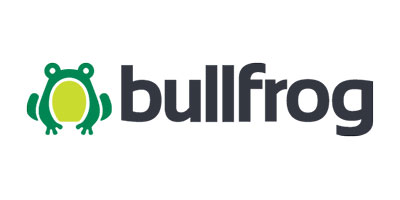Bullfrog, proud client of Fresh Brew Digital Marketing